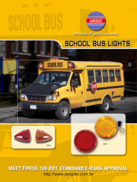 school bus lights